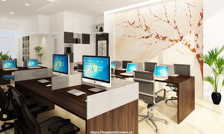 Tông màu giúp định hình chủ đề cho căn phòng, tránh sự rời rạc giữa các chi tiết nội thất