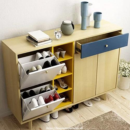 Tủ giày gỗ 10