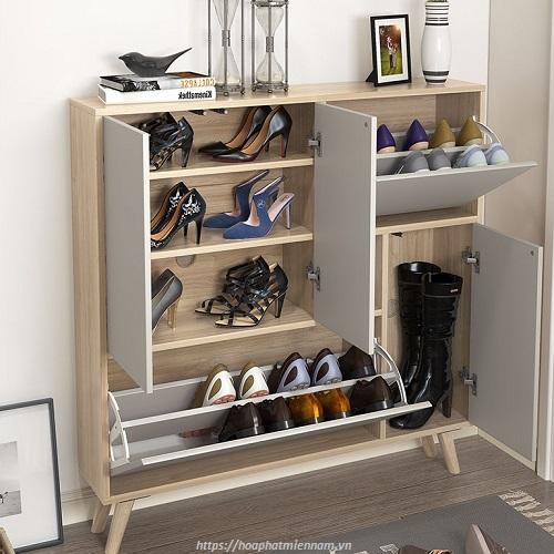 Tủ giày gỗ 01