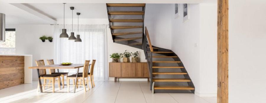các mẫu cầu thang gác lửng đẹp