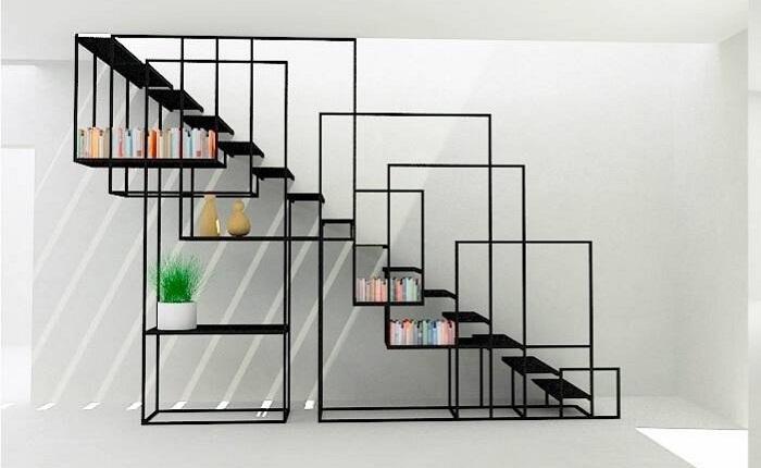 Thiết kế thiên hướng nghệ thuật cho cầu thang lên gác lửng