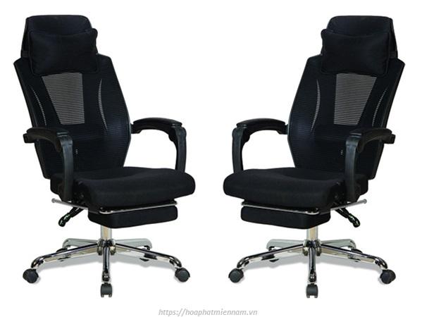 Ghế xoay văn phòng ngã lưng với gác chân GL326