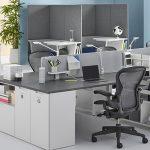 [Top 30] mẫu bàn nhân viên có vách ngăn đẹp nhất hiện nay