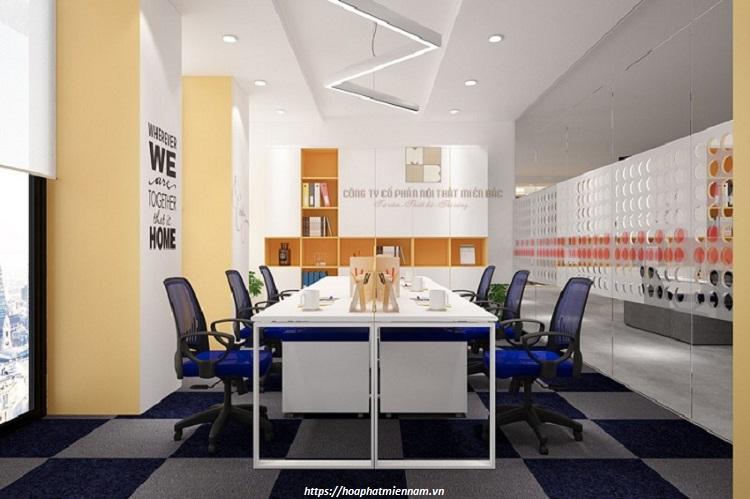 Nếu cần làm việc nhóm, hãy mua nội thất giảm không gian riêng tư