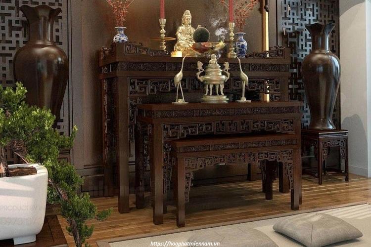 Không đặt bàn thờ bên cạnh những nơi ô uế