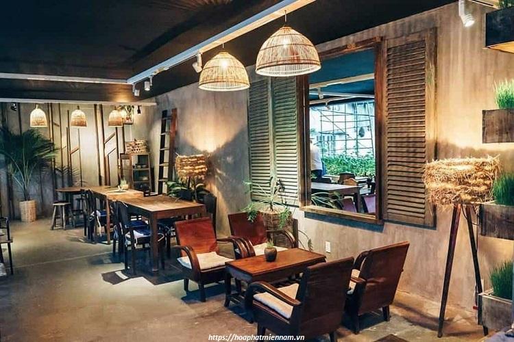 Nội thất quán cafe cổ điển phải độc đáo nhưng vẫn phải đảm bảo tính năng sử dụng một cách thoải mái