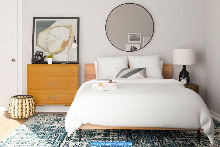 Không gian tối giản với ít đồ nội thất