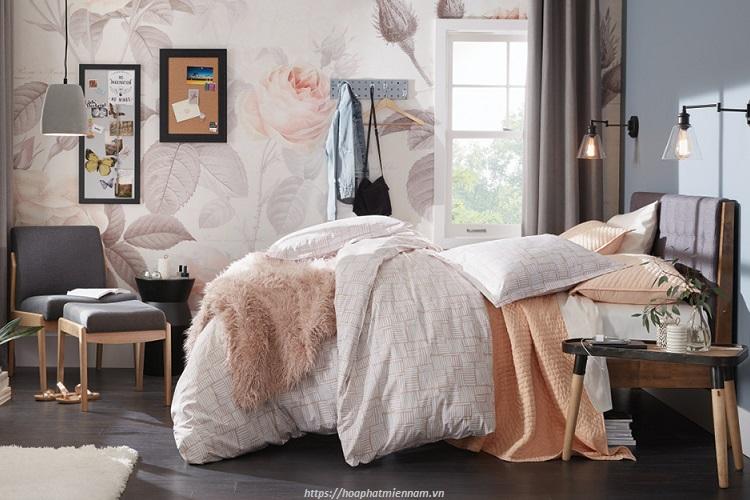 Mẫu trang trí phòng ngủ dành cho bạn gái trẻ trung