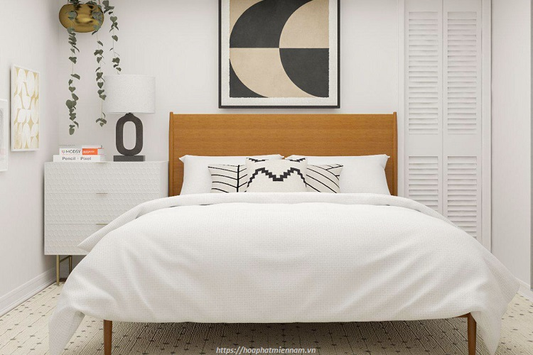 Nên hạn chế kê các đồ đạc lỉnh kỉnh trong phòng ngủ có diện tích nhỏ