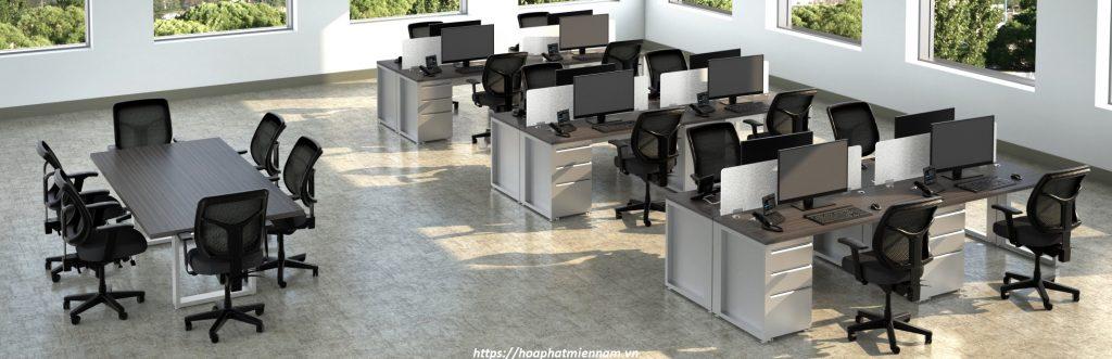 bàn ghế và tủ văn phòng