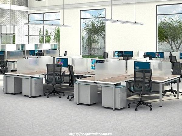 Không gian văn phòng quyết định món đồ nội thất có thể sử dụng bên trong nó