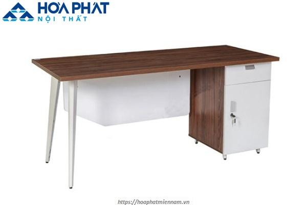 Mẫu bàn làm việc hộc tủ phụ cao cấp LUX160HLC10