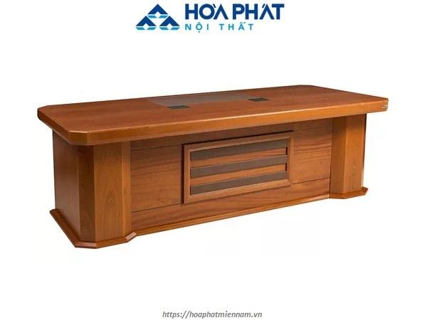 Bàn giám đốc bằng gỗ công nghiệp sơn PU cao cấp DT1890V15