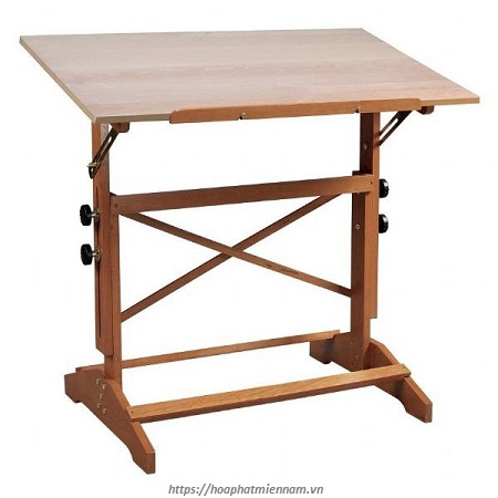 Bàn vẽ kỹ thuật bằng gỗ