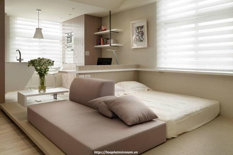 Cách trang trí phòng ngủ nhỏ không có giường đơn giản ai cũng làm được