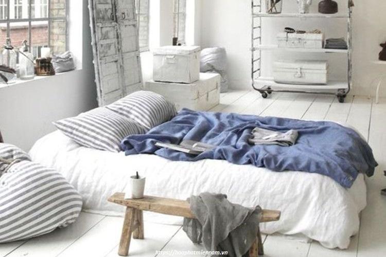 Sáng tạo độc đáo với phòng ngủ không giường