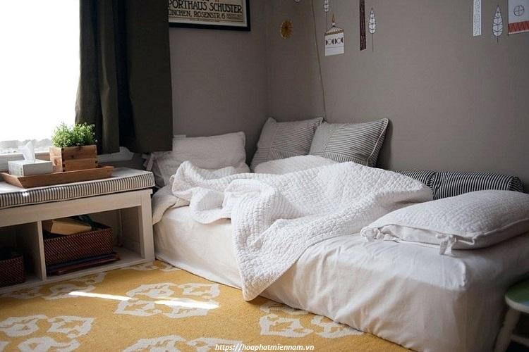 Sử dụng thêm các món đồ nội thất thông minh cho phòng ngủ nhỏ