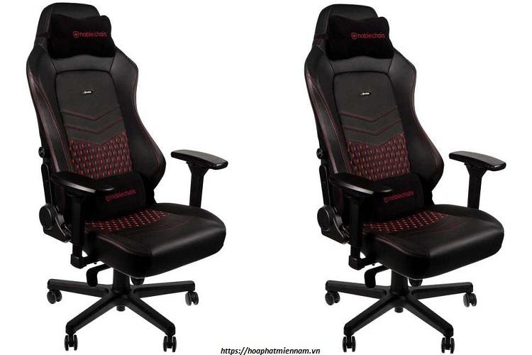 Chiếc ghế chơi game với thiết kế sang trọng