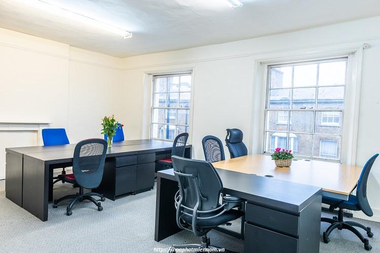 Phải chắc chắn rằng những chiếc bàn sắp mua của mình phải phù hợp với không gian phòng làm việc mới