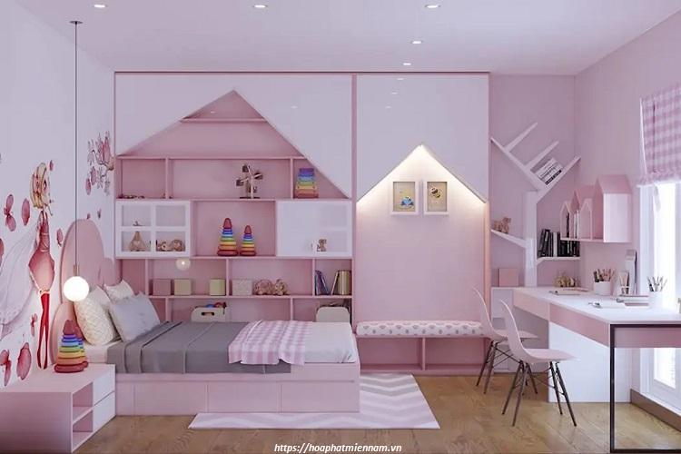 Sử dụng giấy dán tường trang trí cho phòng ngủ là ý tưởng được rất nhiều người ưa chuộng