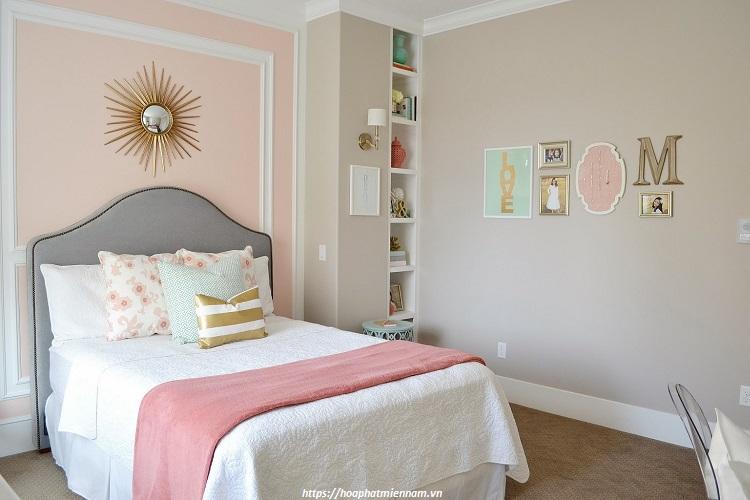 Trang trí phòng ngủ nhỏ đơn giản với các vật dụng không quá cầu kỳ