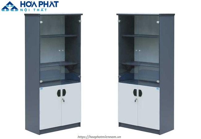 Tủ tài liệu cánh kính bền đẹp, giá rẻ HP1960G