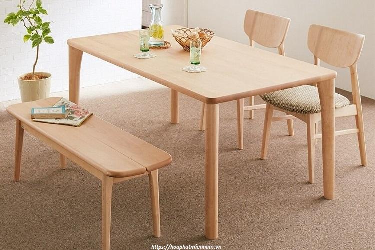 Xưởng sản xuất bàn ghế gỗ uy tín
