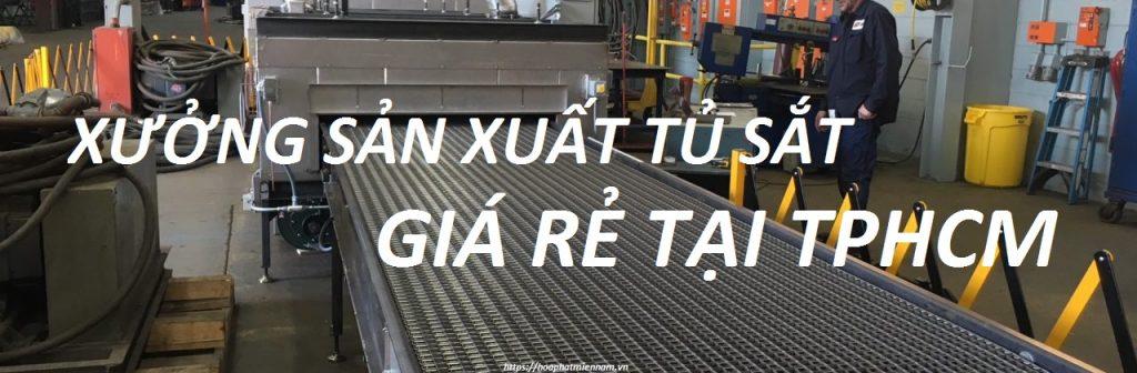 Xưởng sản xuất tủ sắt tphcm