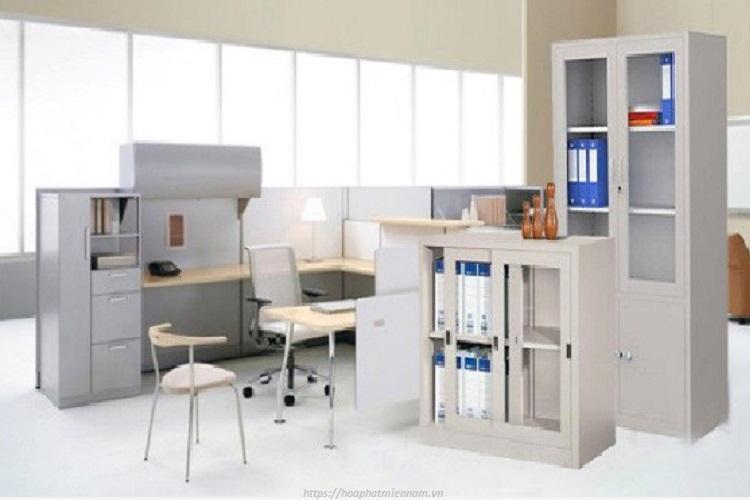 Tủ sắt văn phòng phù hợp với mọi loại diện tích