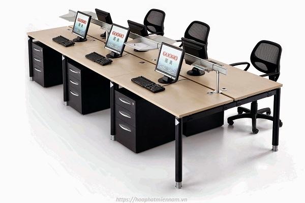 Cụm bàn văn phòng dài 6