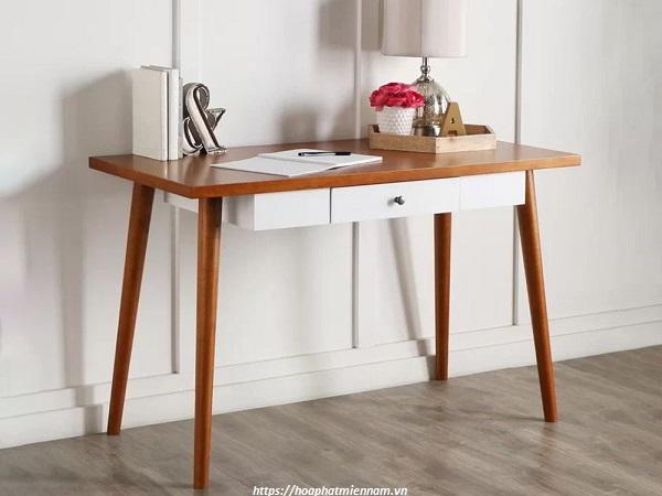 Mẫu bàn văn phòng đơn giản cho phòng diện tích nhỏ