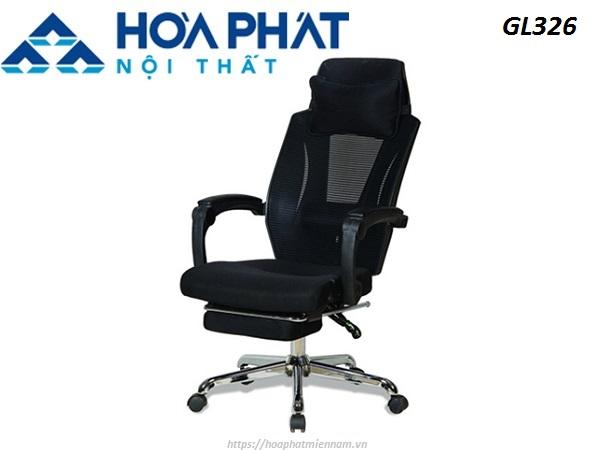Ghế ngả lưng gác chân GL326 mang lại vẻ đẹp hiện đại cho không gian nội thất