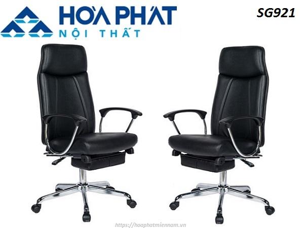 Có vô vàn kiểu dáng ghế ngả lưng gác chân sang trọng - Ghế Hòa Phát SG921