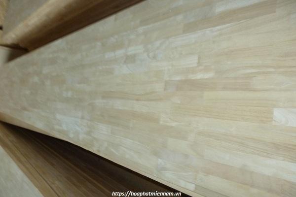 Một số hạn chế khi sử dụng gỗ cao su