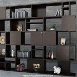 99 mẫu kệ gỗ trang trí phòng khách hiện đại 2020