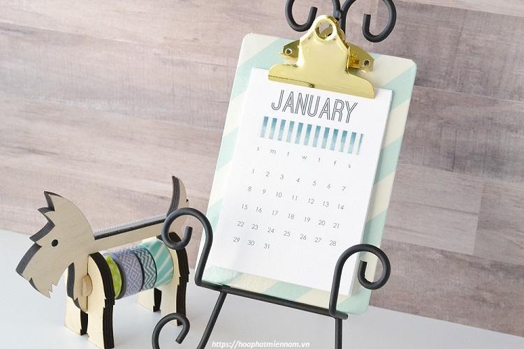 Kệ lịch độc đáo
