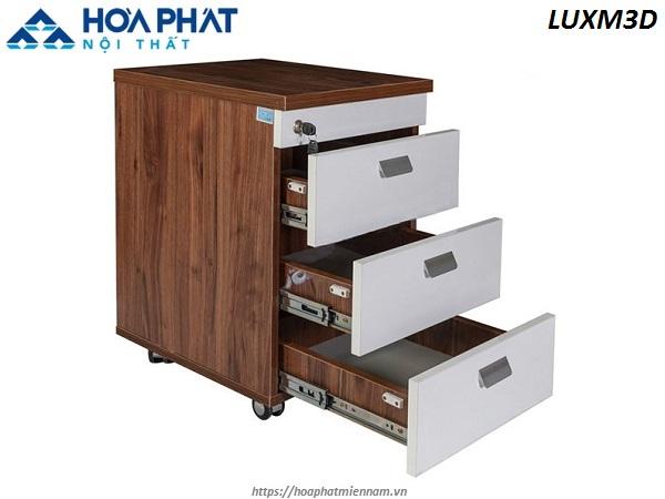 Mẫu thiết kế tủ 3 ngăn văn phòng mang mã sản phẩm LUX1960-2B3
