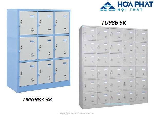 Mẫu tủ locker đựng đồ tư trang cá nhân cho nhiều người