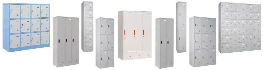 tủ sắt đựng đồ cá nhân - Tủ locker Hòa Phát 2020