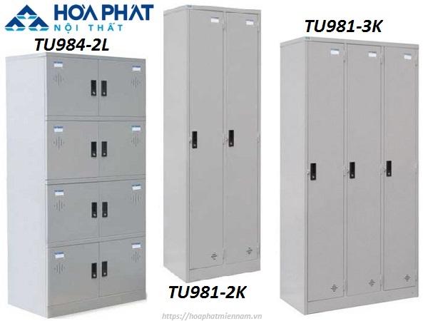Mẫu mả sản phẩm tủ Locker cá nhân đa dạng tại Nội Thất Hòa Phát