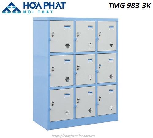 Tủ Locker Hòa Phát 9 ngăn TMG983-3K