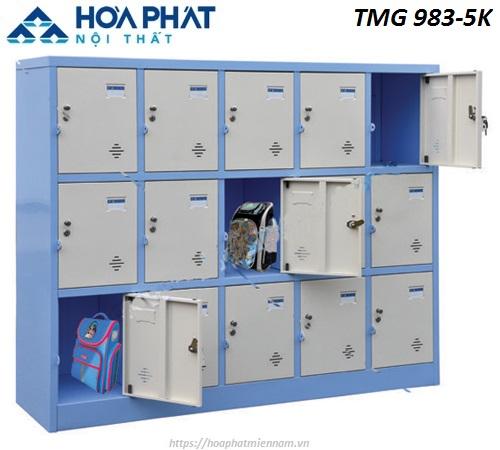 Tủ Locker Hòa Phát 15 ngăn TMG983-5K