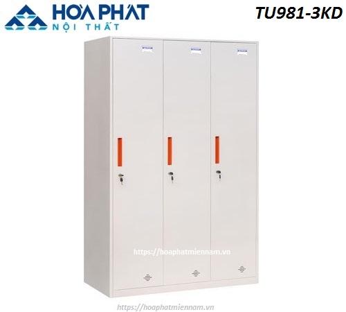 Tủ cá nhân Hòa Phát TU981-3KD