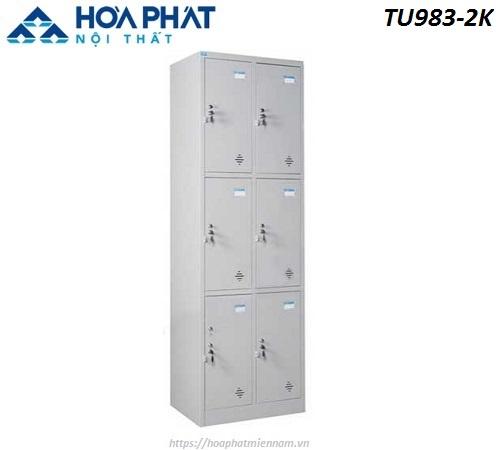 Tủ Hòa Phát đựng đồ cá nhân TU983-2K