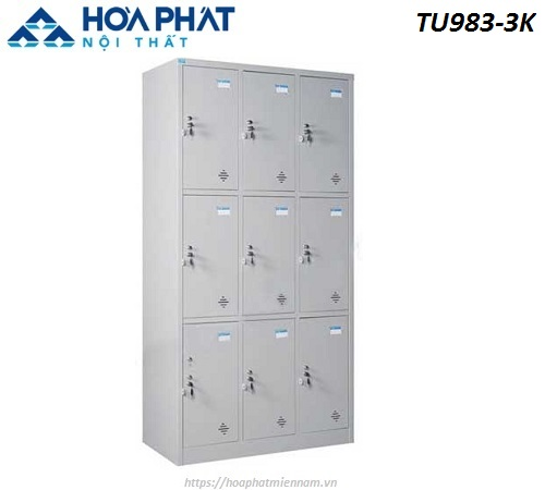 Tủ đồ cá nhân bằng sắt TU983-3K