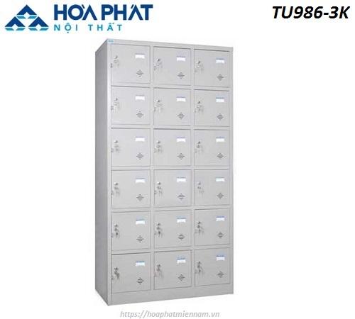 Tủ Locker cá nhân 18 ngăn TU986-3K