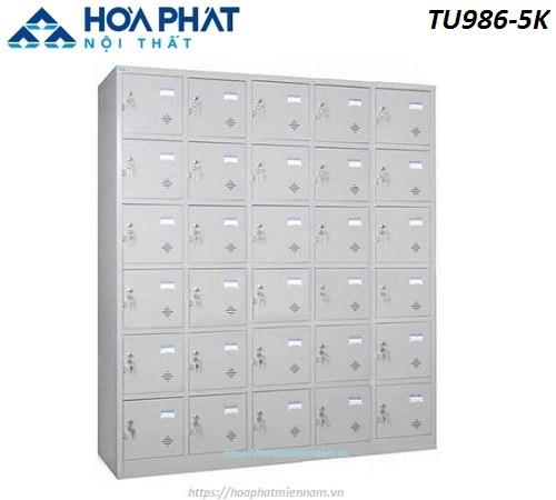 Tủ Locker cá nhân 30 ngăn TU986-5K