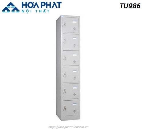 Tủ Locker cá nhân 6 ngăn TU986