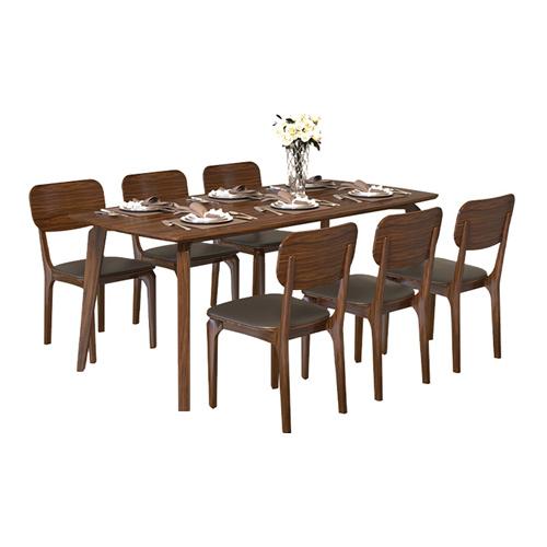 Bộ bàn ăn 6 ghế BA504A - GA504
