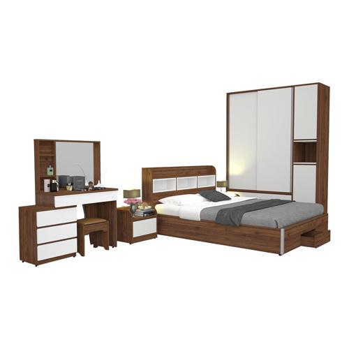 Bộ giường ngủ gia đình GN307-TA307-TAP307-BP307